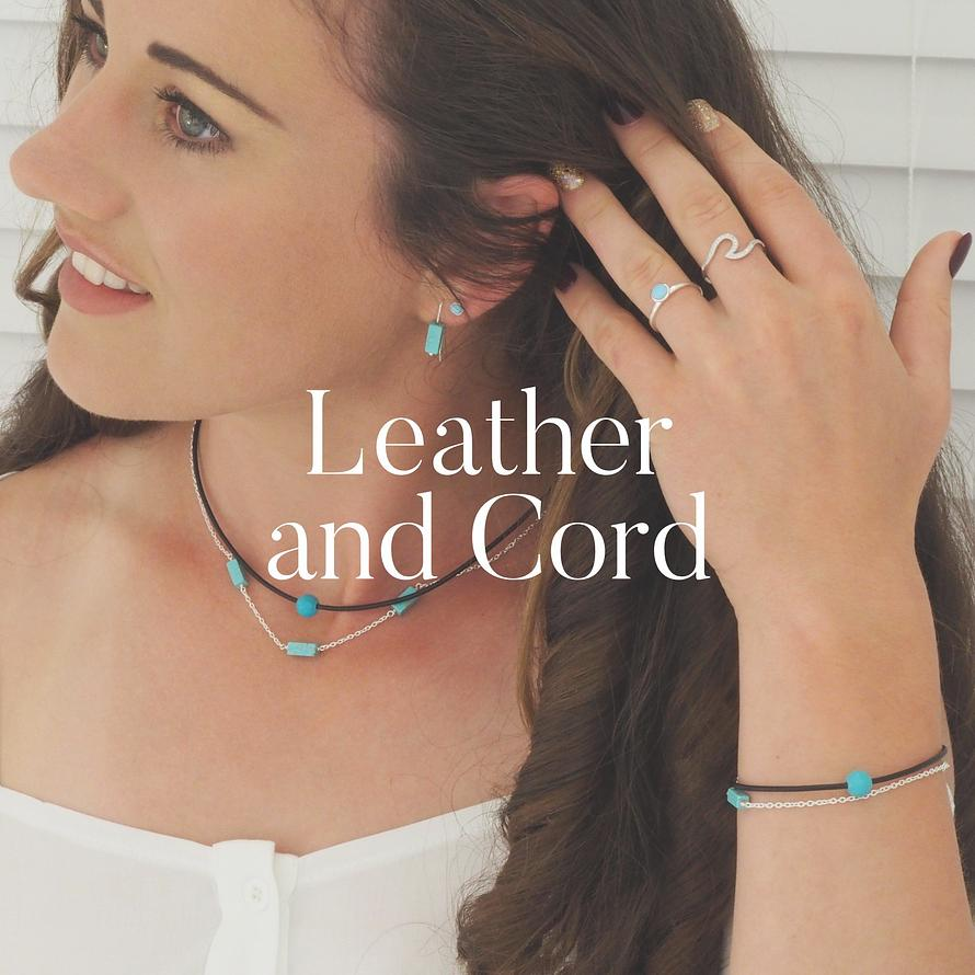 Leather and Cord