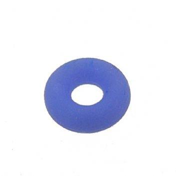 BABYLINKS BEAD CHARM BRACELET BLUE NYLON SAFETY STOPPER -BL-Nylon-Blue