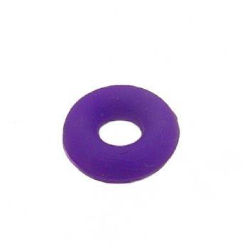 BABYLINKS BEAD CHARM BRACELET PURPLE NYLON SAFETY STOPPER -BL-Nylon-Purple