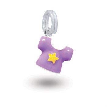 MY LITTLE ANGEL BABYLINKS LUCKY STAR TEE SHIRT CHARM -BL-SHIRT