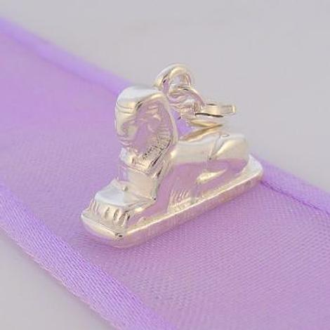 STERLING SILVER EGYPTIAN SPHINX CLIP ON CHARM - HR1849