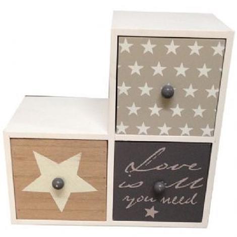 STAR BOX Love is all you need DESIGN JEWELLERY BOX 200mm x 200mm x 100mm