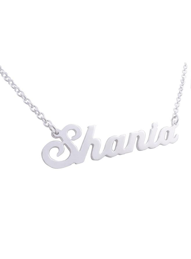 Personalised jewellery name necklaces the jewel shop aloadofball Image collections