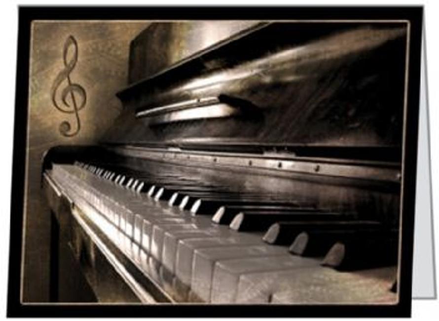 Free Gift Folded Music Piano