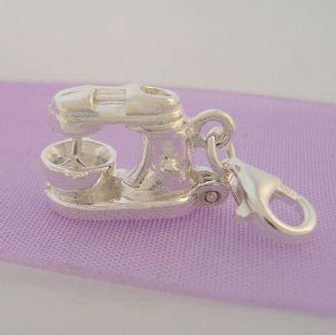 STERLING SILVER MIXMASTER MIXER KITCHEN CLIP ON CHARM -HR3215