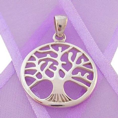 STERLING SILVER 22mm TREE OF LIFE CHARM PENDANT - CP-925-54-706-9649