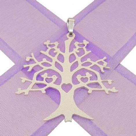 STERLING SILVER 33mm TREE OF LIFE CHARM PENDANT -925-54-706-9984