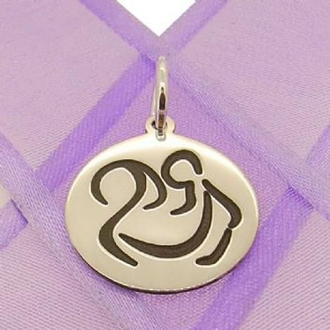 18mm ROUND MOTHER HOLDING BABY COIN PENDANT -18mm-SS-coin-JSR5