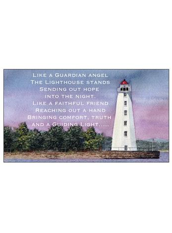 Free Gift Tag Lighthouse