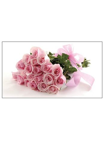 Free Gift Tag Pink Roses
