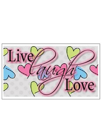 Free Gift Tag Live Laugh Love