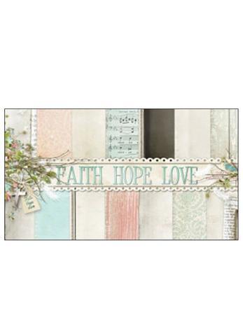 Free Gift Tag Faith Hope Love