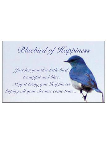 Free Gift Tag Bluebird of Happiness