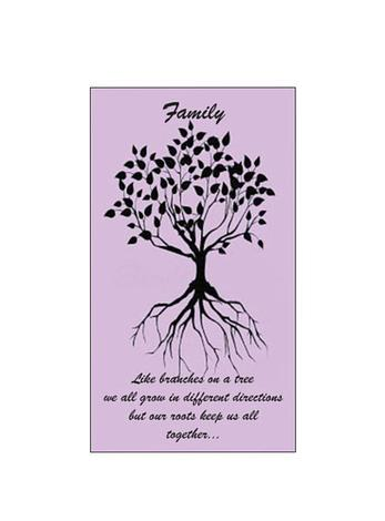 Free Gift Tag Family Roots