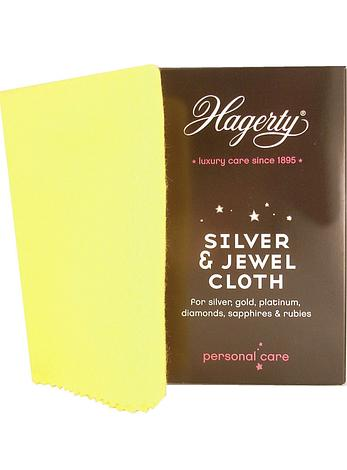 Professional Hagerty Silver and Gold Jewellery Cleaning Cloth