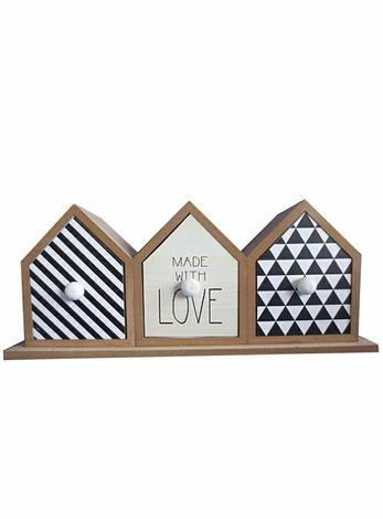 Boathouse Made with Love Trinket Jewellery Box