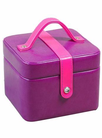 Deni Purple Jewellery Box