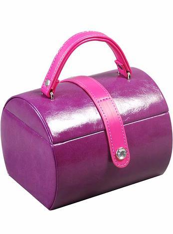 Deni Purple Fashion Jewellery Box