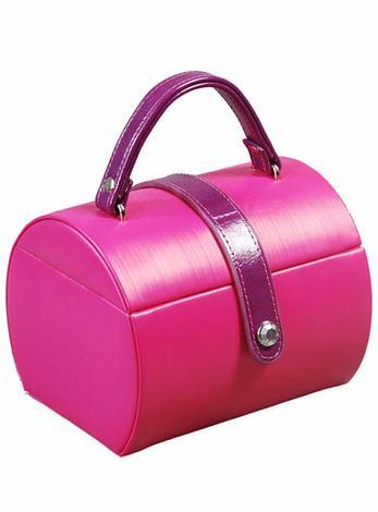 Deni Pink Fashion Jewellery Box