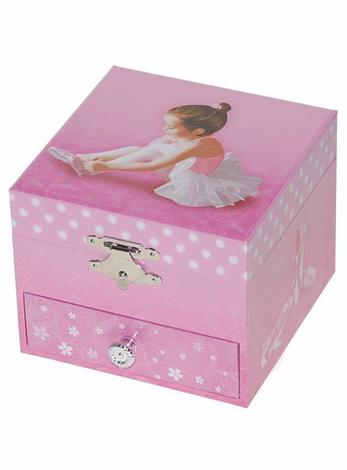 Ballerina Ballet Dancer Musical Jewellery Box