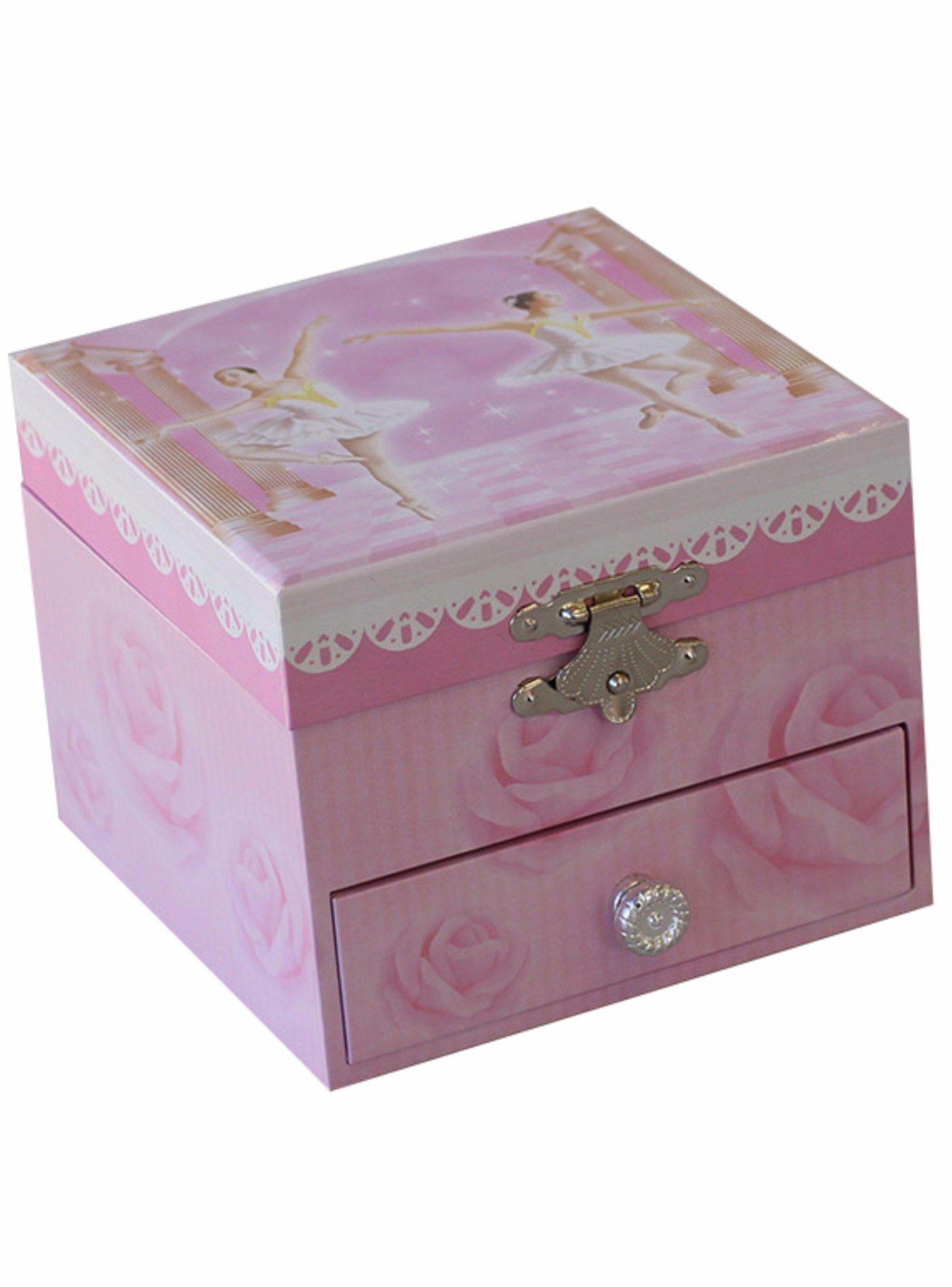 Ballet Dancer Ballerina Musical Jewellery Box