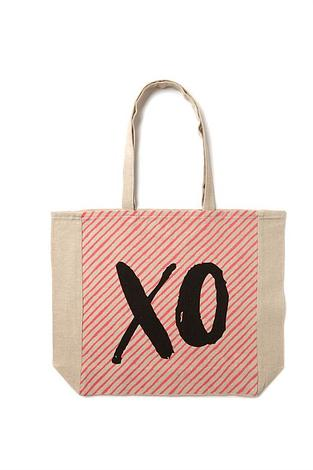 Free Gift Offer X O Tote Bag