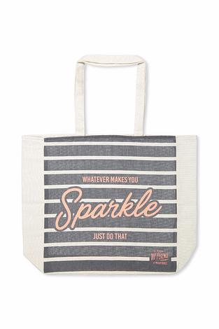 Free Gift Offer Sparkle Tote Bag