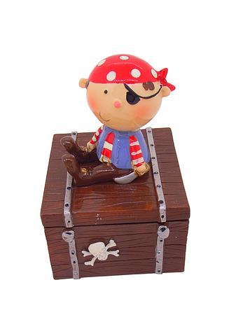 Pirate Treasure Trinket Jewellery Box