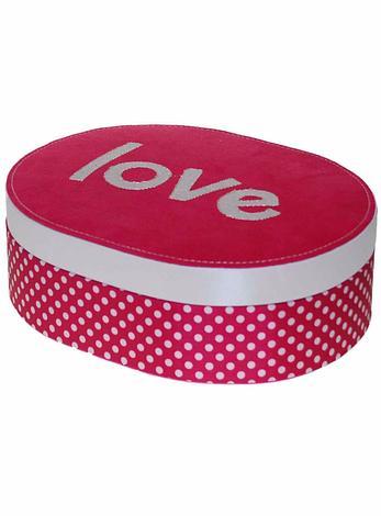 Polka Dots Love Jewellery Box