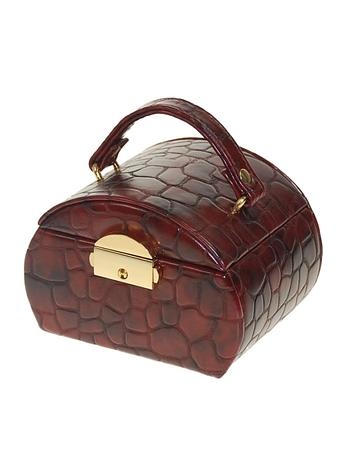 Moroco Brown Womens Jewellery Box