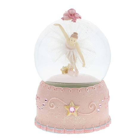 Musical Ballerina Snow Globe