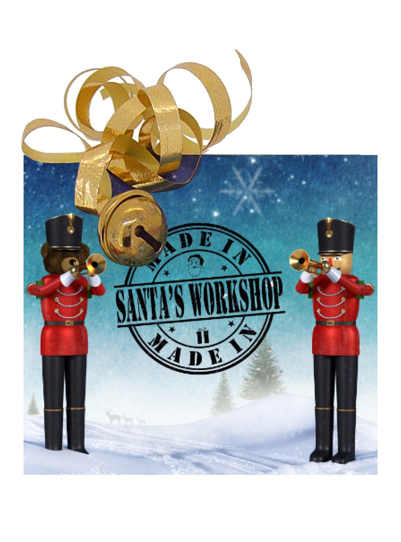 Free Gift Tag Made in Santas Workshop