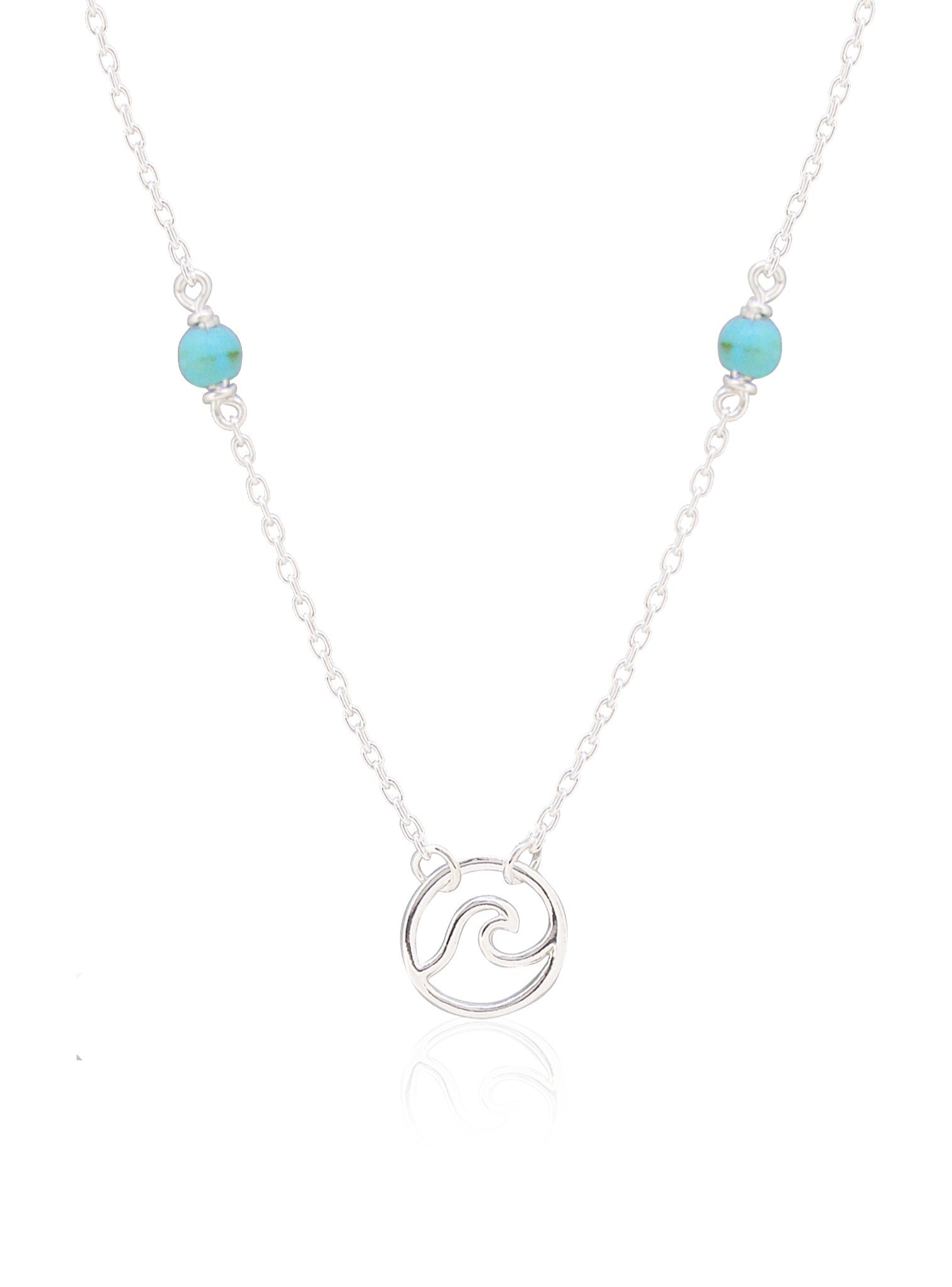 Ocean Wave Turquoise Necklace Love Britty