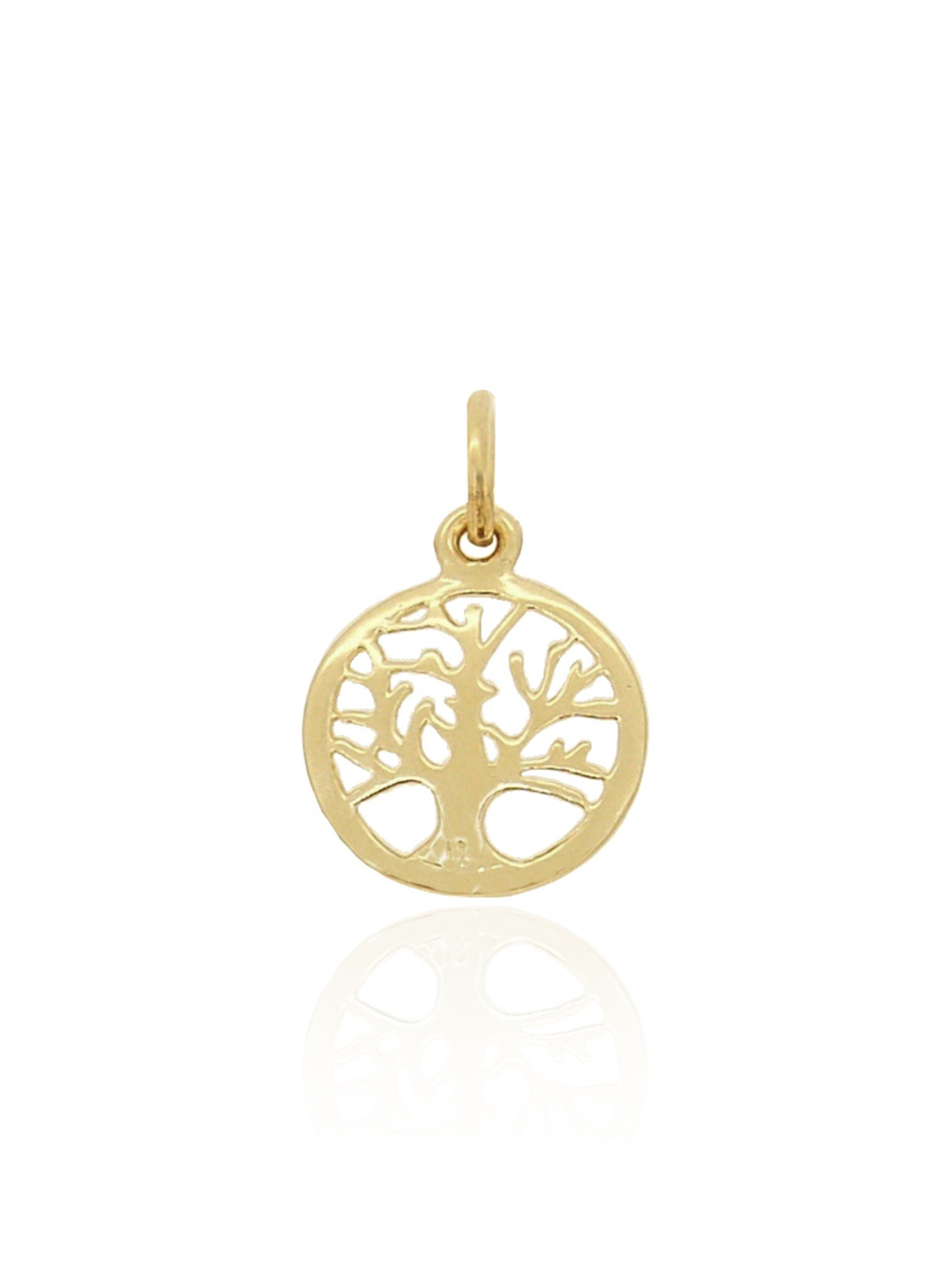 Tree of Life 16mm Charm Pendant in 9ct Gold