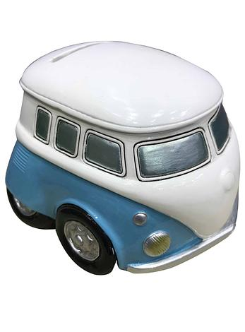 Retro Combi Van Money Box